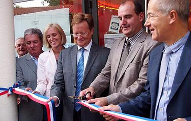 Inauguration du cinéma rénové
