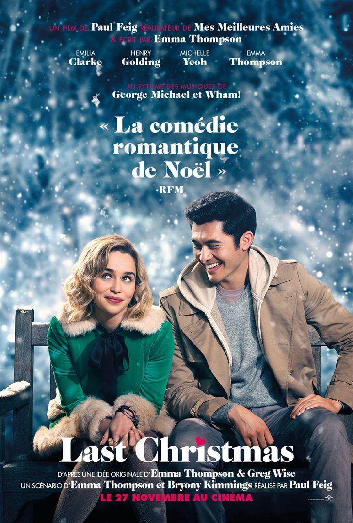 En décembre vendredi 27 à 20h45 et Samedi 28 décembre à 18h15 : LAST CHRISTMAS