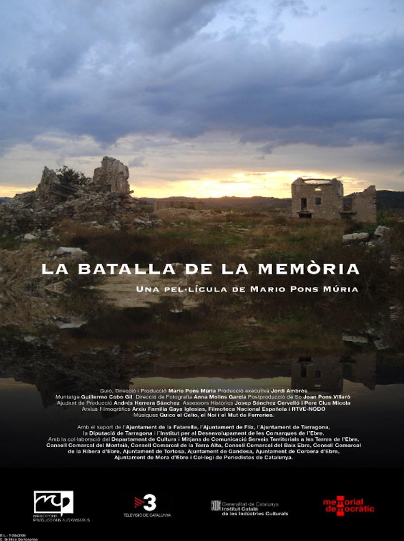 MARDI 3 Mars à 20h45 : LA BATALLA DE LA MEMORIA